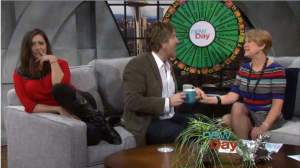 New Day NW talk show in Seattle on KING 5 discussing Hot Topics - Jan 20, 2015